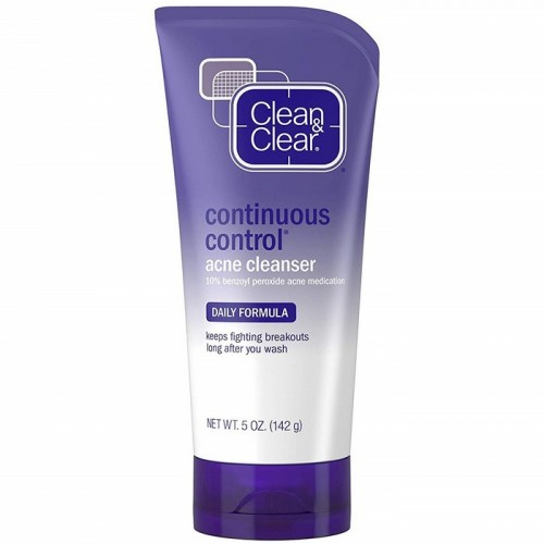Clean & Clear Continuous Control Acne Cleanser 5 oz (142g)