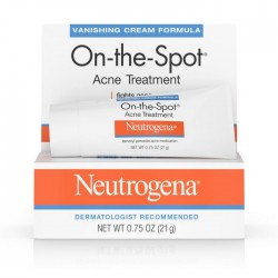 Neutrogena On-The-Spot Acne Treatment Cream 0.75 oz (21g)