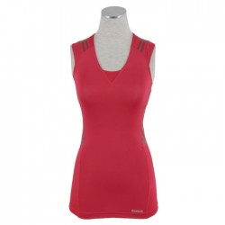 Reebok EasyTone Womens Sleeveless Taped Top