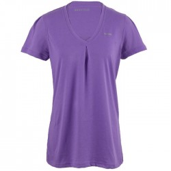 Reebok EasyTone Womens Double Layer Short Sleeve Fitness Top