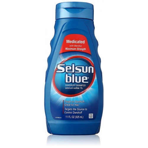 Selsun Blue Medicated Maximum Strength Anti Dandruff Shampoo 11 fl oz (325ml)
