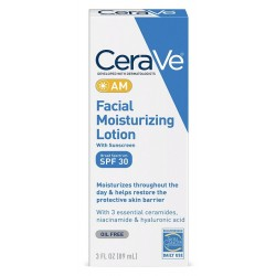 CeraVe AM Facial Moisturizing Lotion With Sunscreen 3 fl oz (89ml)