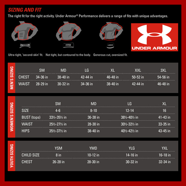 Kids Under Armour Shoe Sizing